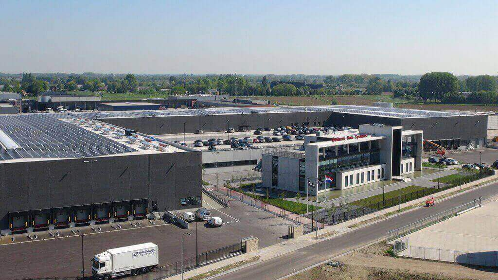 Terrein distributiecentrum Hitachi